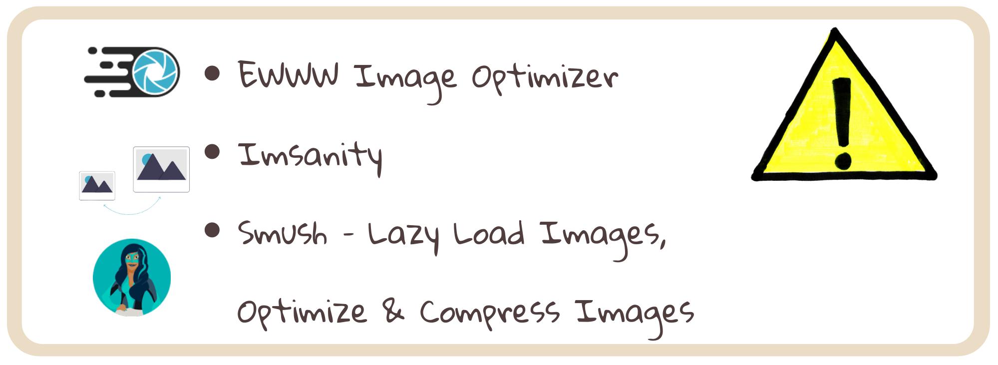 WordPress pluginy - obrázky
