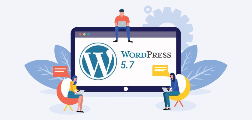 Nová verze WordPressu - 5.7