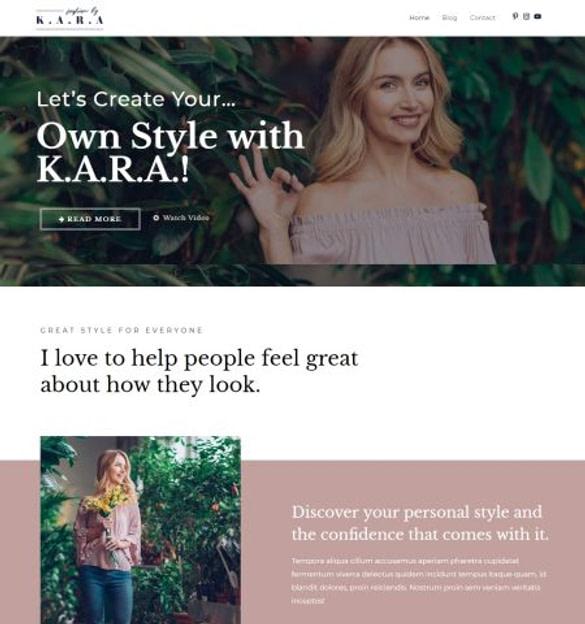WordPress šablona Astra