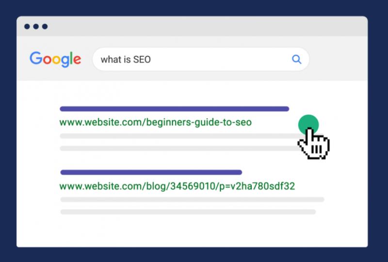 Rozdílné podoby URL adres ve výsledcích vyhledávání
