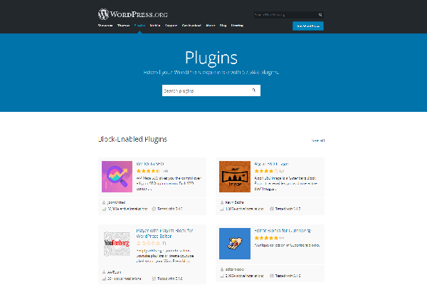 WordPress pluginy